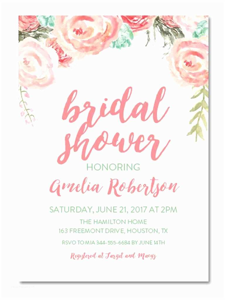 Bridal Shower Invitation Ideas Printable Bridal Shower Invitations You Can Diy