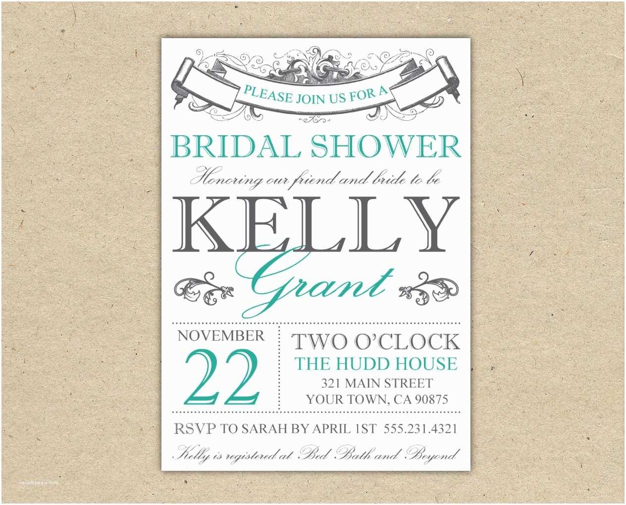 Bridal Shower Invitation Templates Bridal Shower Invitation Templates