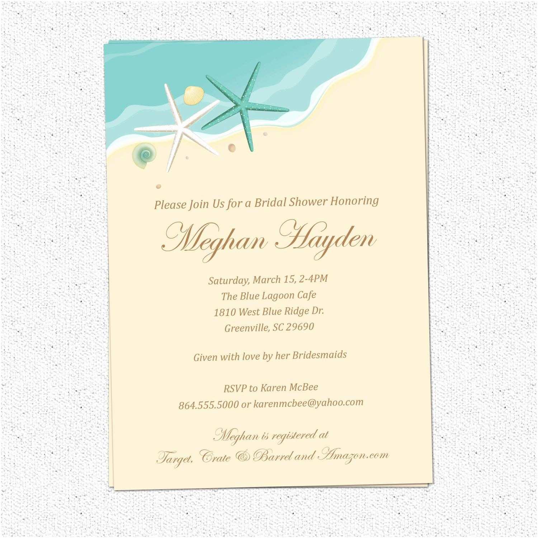 Bridal Shower Invitation Templates Create Bridal Shower Invitation Wording