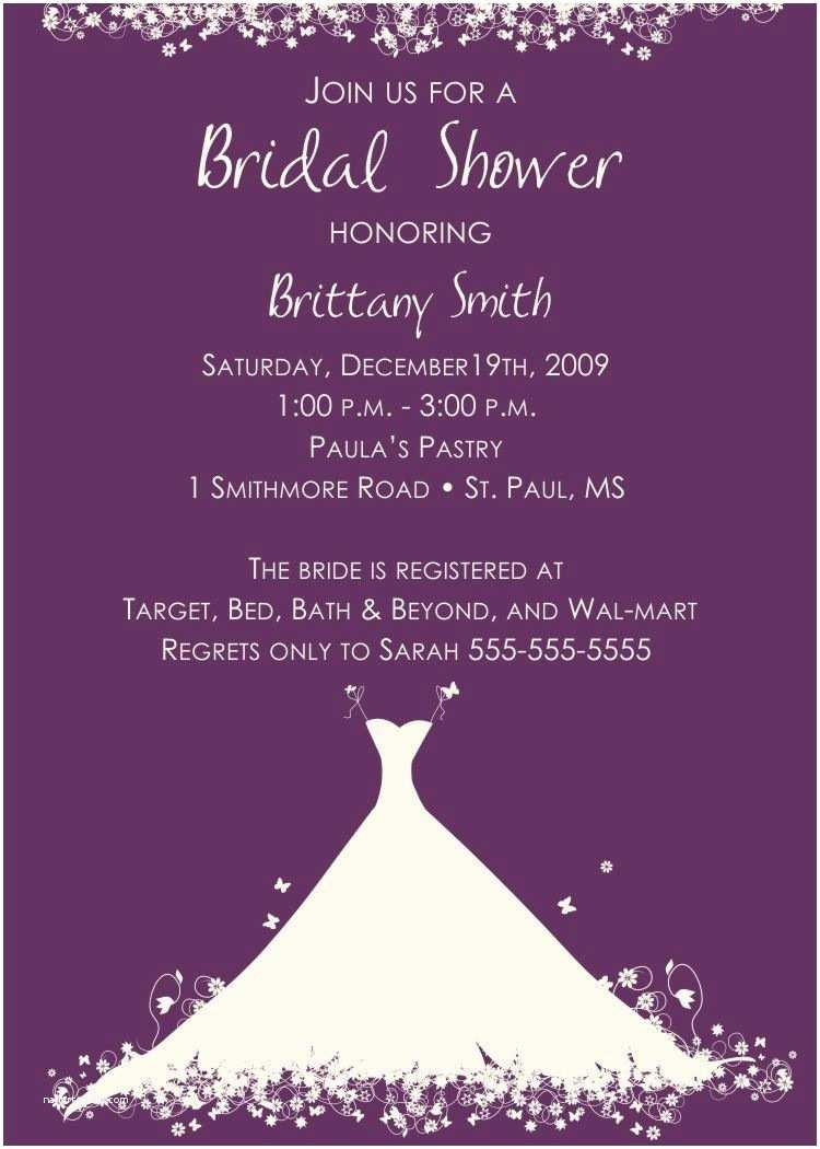 Bridal Shower Invitation Wording Bridal Shower Invitation Verbiage Bridal Shower