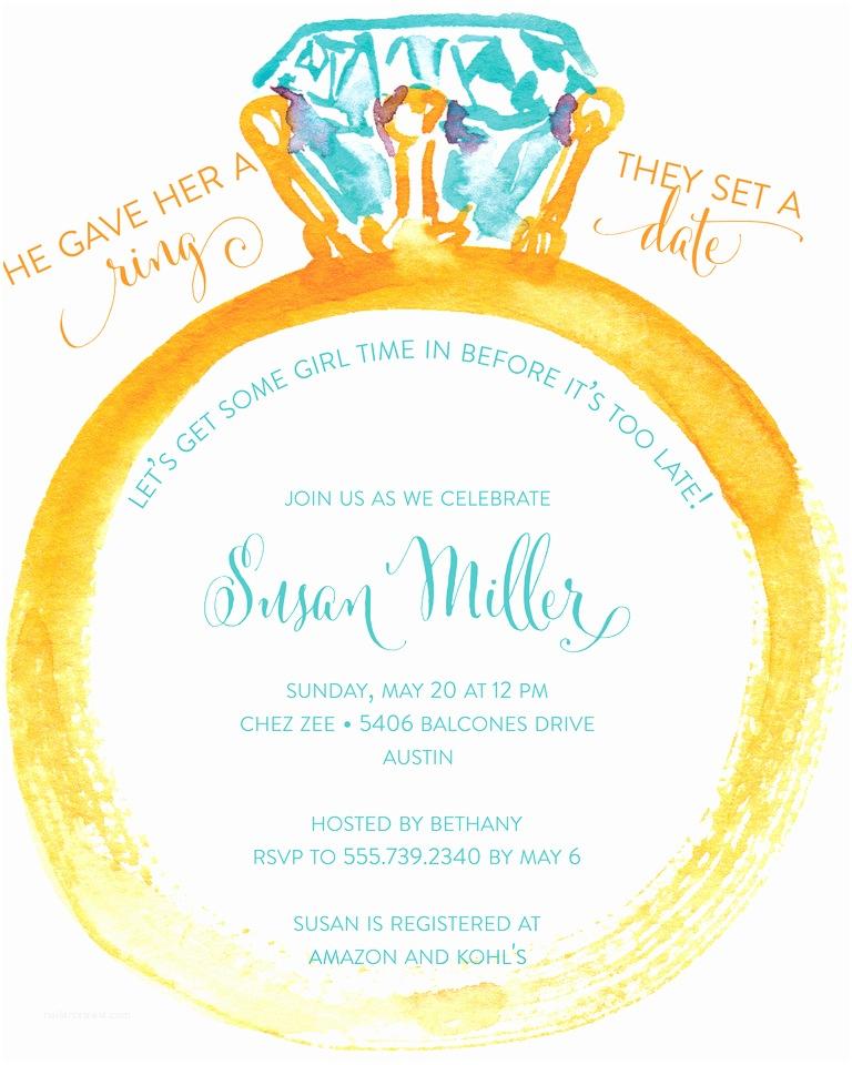 Bridal Shower Invitation Wording Bridal Shower Invitation Wording Ideas and Etiquette