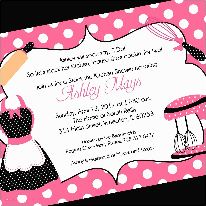 Bridal Shower Invitation Wording Invitation Wording for Bridal Party Invitation