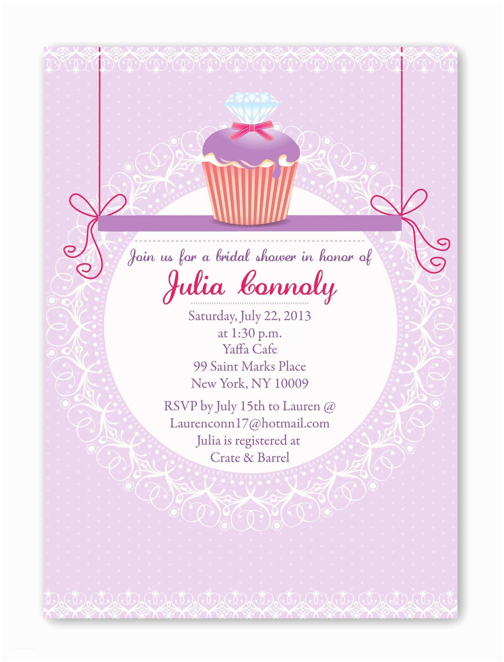 Bridal Shower Invitations Bridal Shower Invitation Rose Image