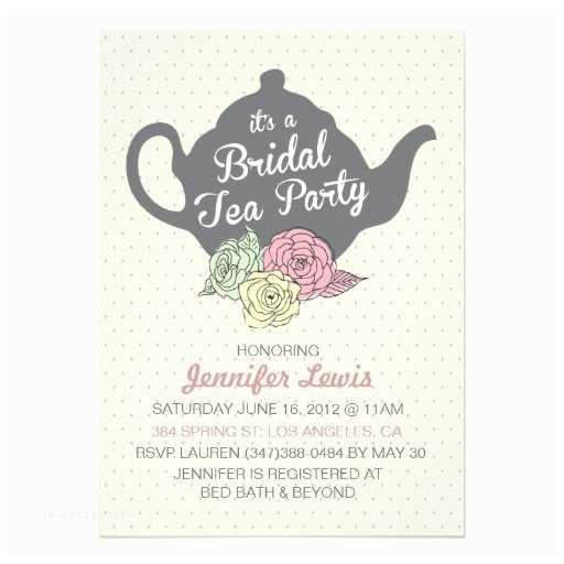 Bridal Shower Tea Party Invitations 1000 Ideas About Bridal Tea Invitations On