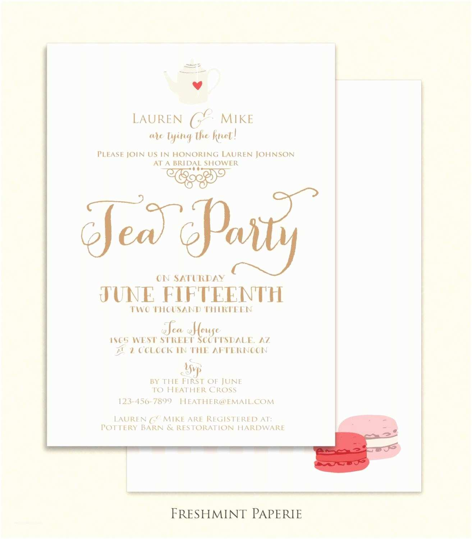 Bridal Shower Tea Party  Bridal Shower Tea Party