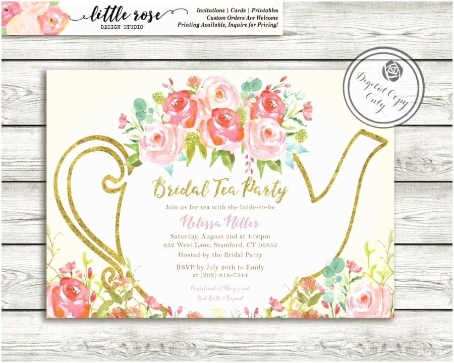 Bridal Shower  Party Invitations Garden  Party Bridal Shower Invitation High