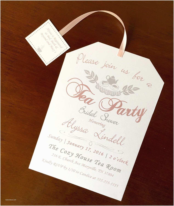 Bridal Tea Party Invitations Item Details Nailartssravi