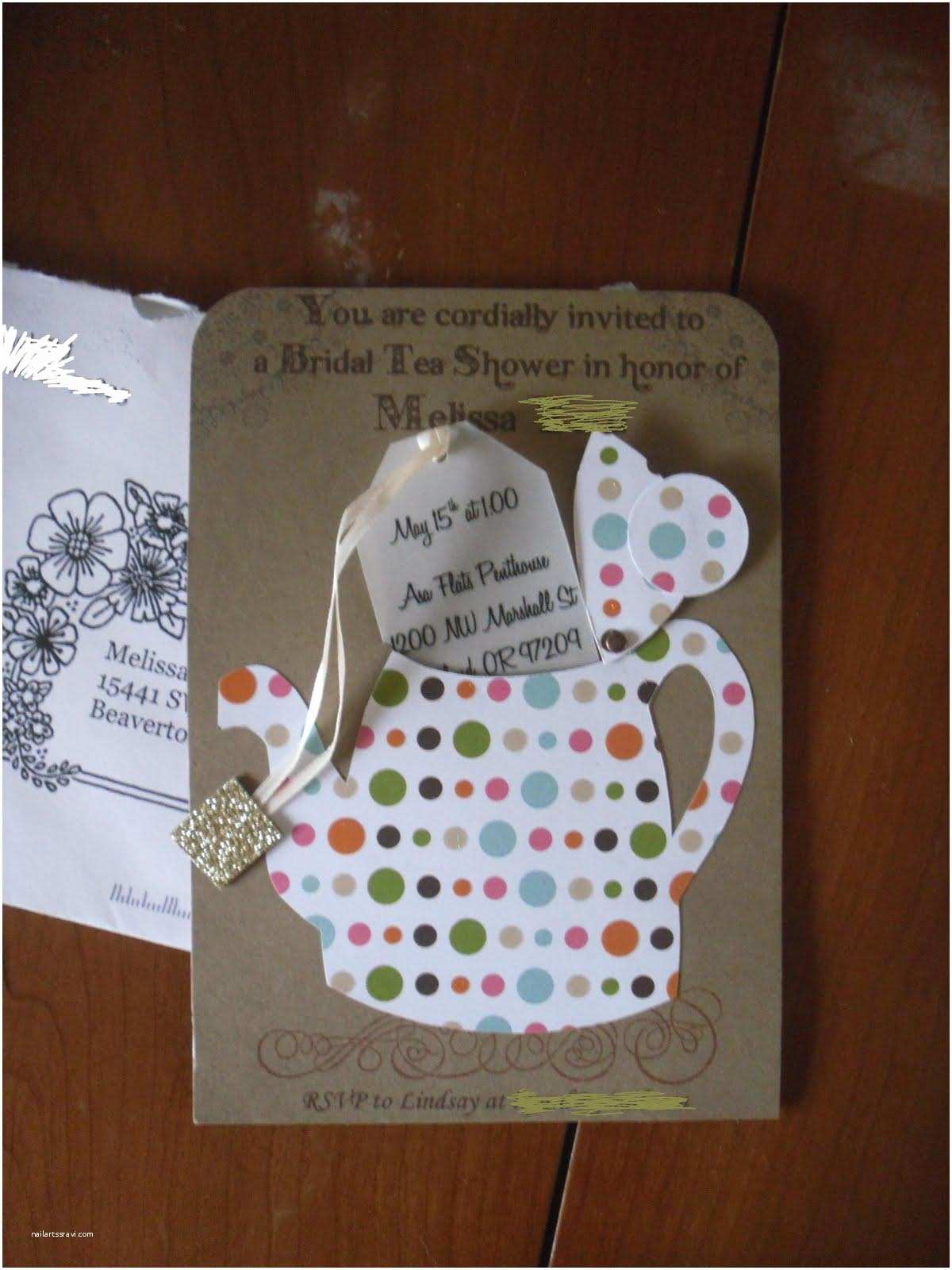 Bridal Tea Party Invitations Tea Party Favors It that What You Want now