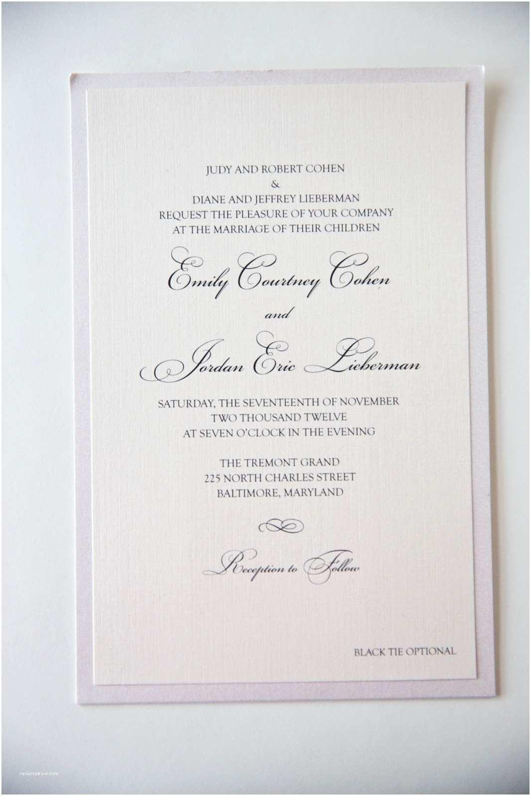 Bride and Groom Wedding Invitations 45 Spectacular Simple Wedding Invitation Wording From
