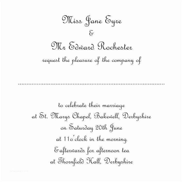 Bride and Groom Wedding Invitations Wedding Invitation Wording Examples