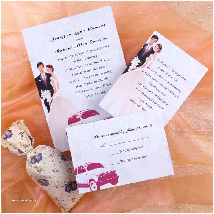 Bride and Groom Wedding Invitations Wedding Structurewedding Structure