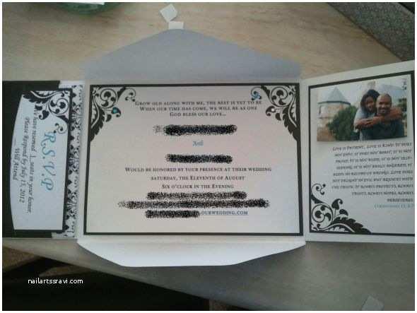Brides Wedding Invitation Kits Brides Invitation Kit Helped