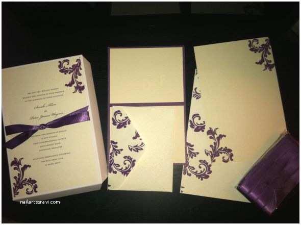 Brides Wedding Invitation Kits Pleted Bride's Invitation Kit