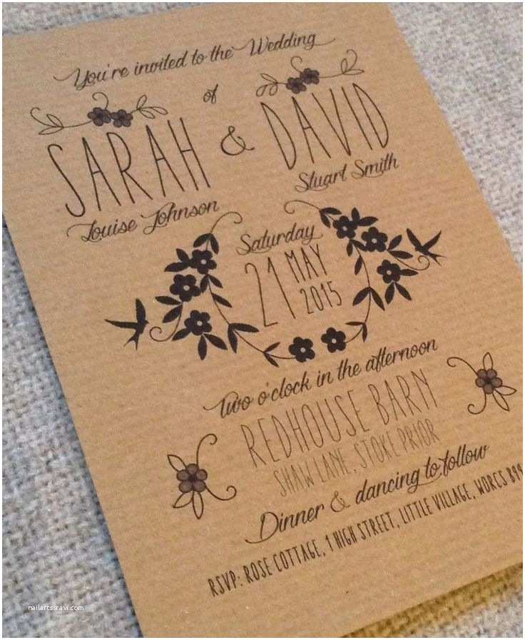 Brown Invitations Wedding Best 25 Brown Wedding Invitations Ideas On Pinterest