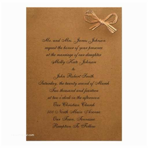 Brown Invitations Wedding Brown Wedding Invitations Matik for