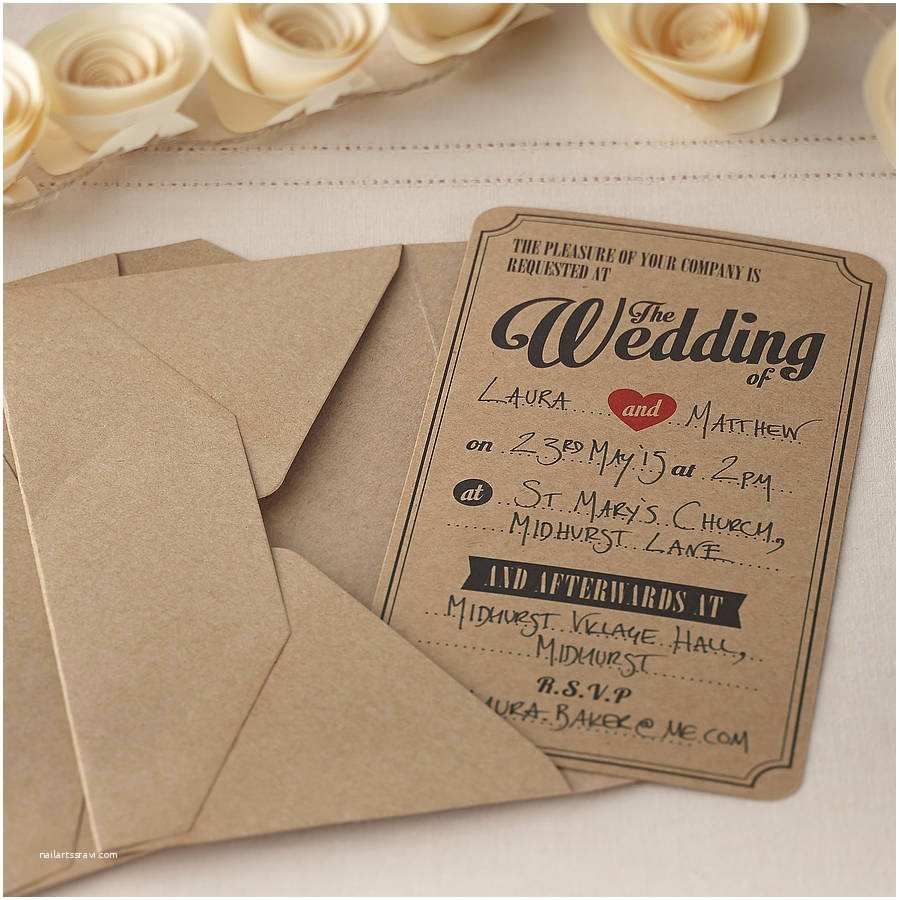 Brown Invitations Wedding Wedding Invitations Kit Templates 2015