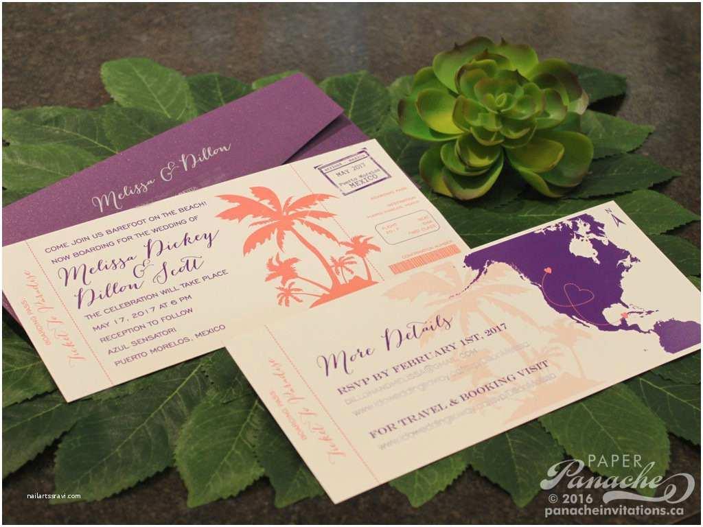 bud wedding invitations