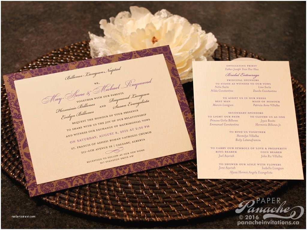 Budget Wedding Invitations Bud Wedding Invitations Paper Panache Invitations