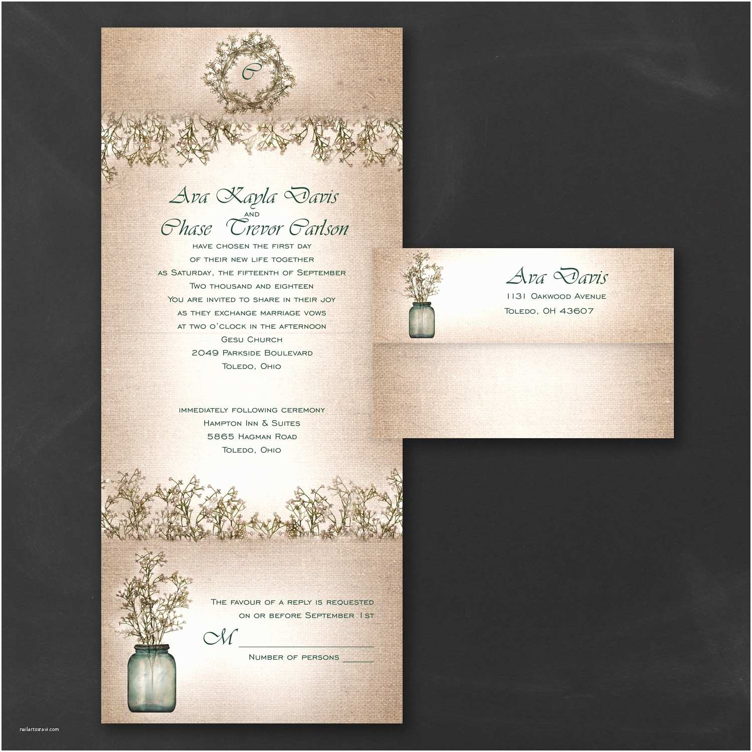 Budget Wedding Invitations Occasions to Blog Bud Friendly Wedding Invitations