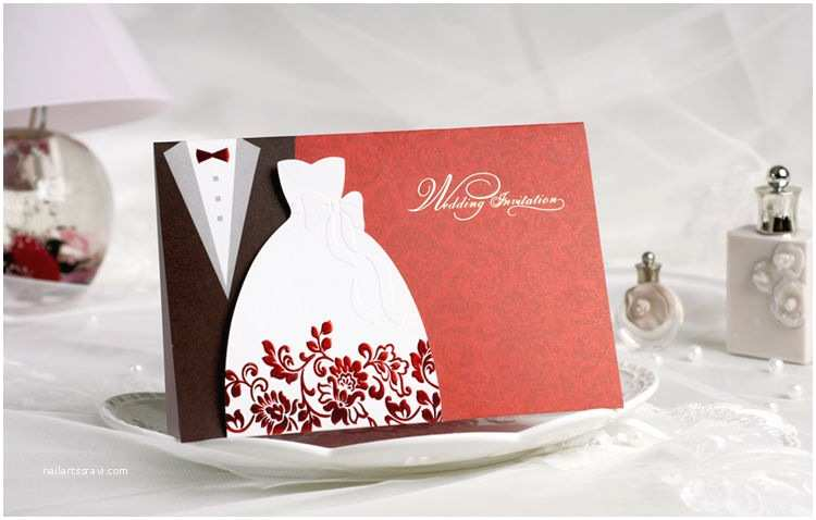 Bulk Wedding Invitations wholesale 50 Kits Classic Bride & Groom Wedding
