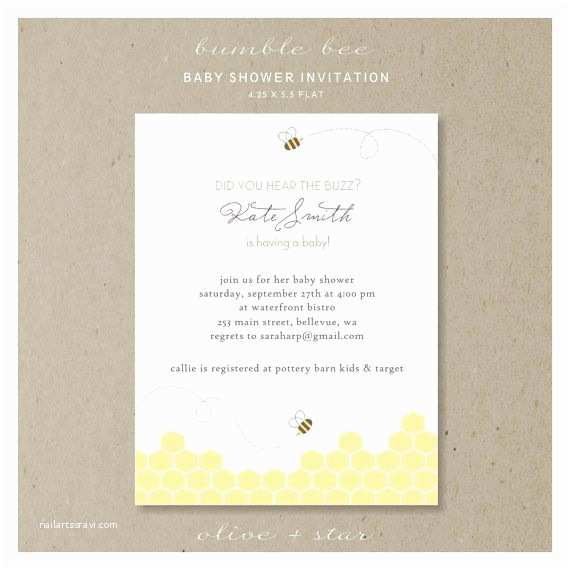 Bumble Bee Baby Shower Invitations 30 Best Mother S Day Images On Pinterest