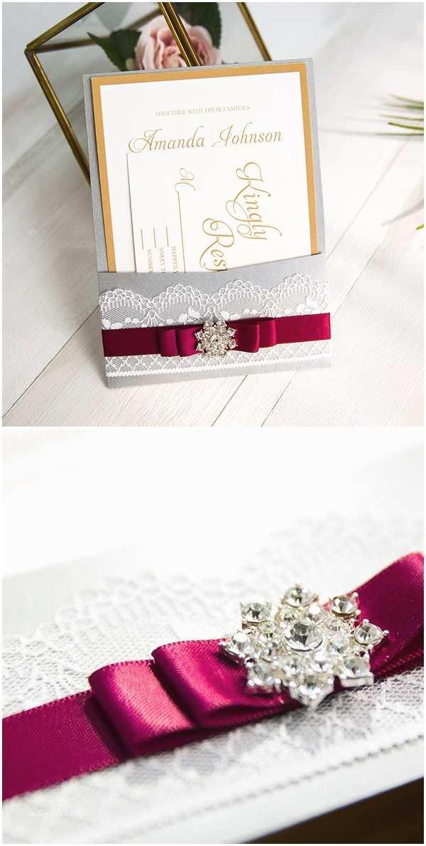 Burgundy and Gold Wedding Invitations Stylish Wedd Blog – Wedding Ideas & Etiquette Every Bride