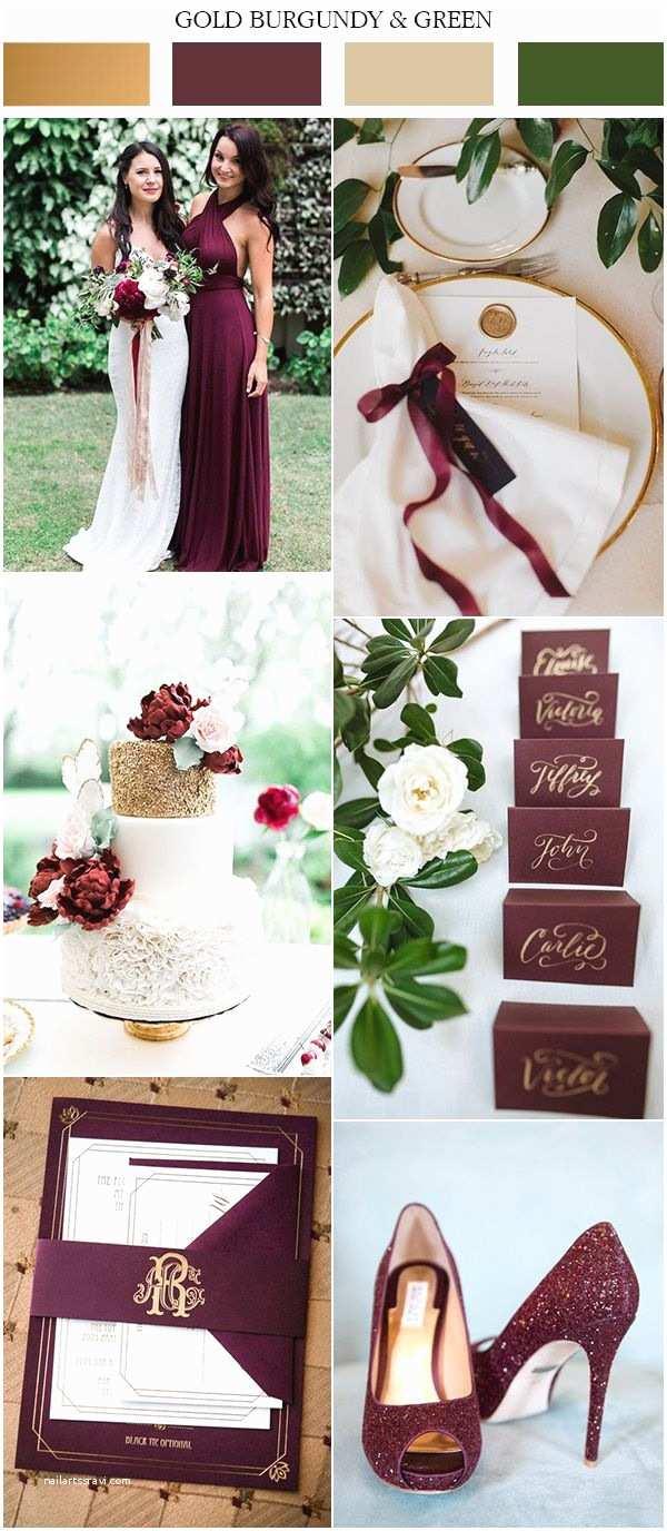 Burgundy and Grey Wedding Invitations 25 Bästa Wedding Color Schemes Idéerna På Pinterest
