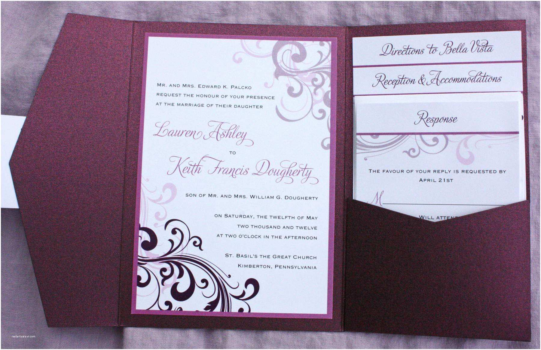 Burgundy and White Wedding Invitations Design Your Wedding Invitation Rectangle Potrait Burgundy