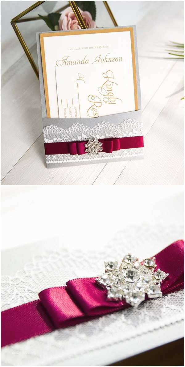 Burgundy and White Wedding Invitations Stylish Wedd Blog – Wedding Ideas & Etiquette Every Bride