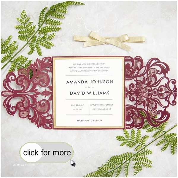 Burgundy themed Wedding Invitations the top 8 Peach Wedding Colors Binations Trends for