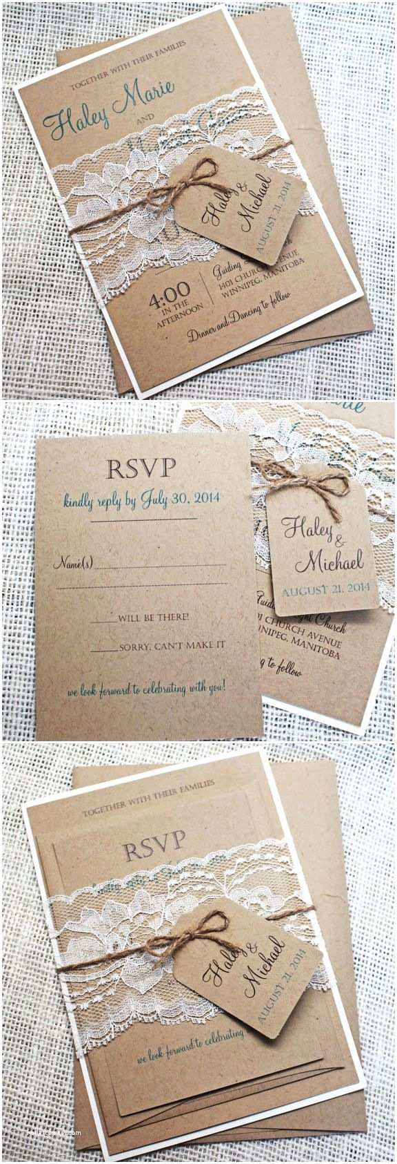 Burlap and Lace Wedding Invitations Best 25 Burlap Wedding Showers Ideas On Pinterest