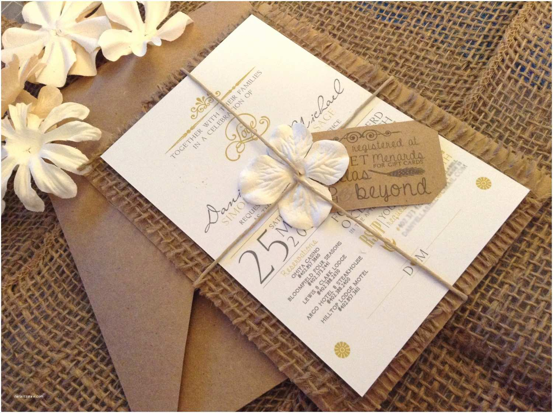 Burlap Wedding Invitations Best 25 Burlap Wedding Invitations Ideas On Pinterest