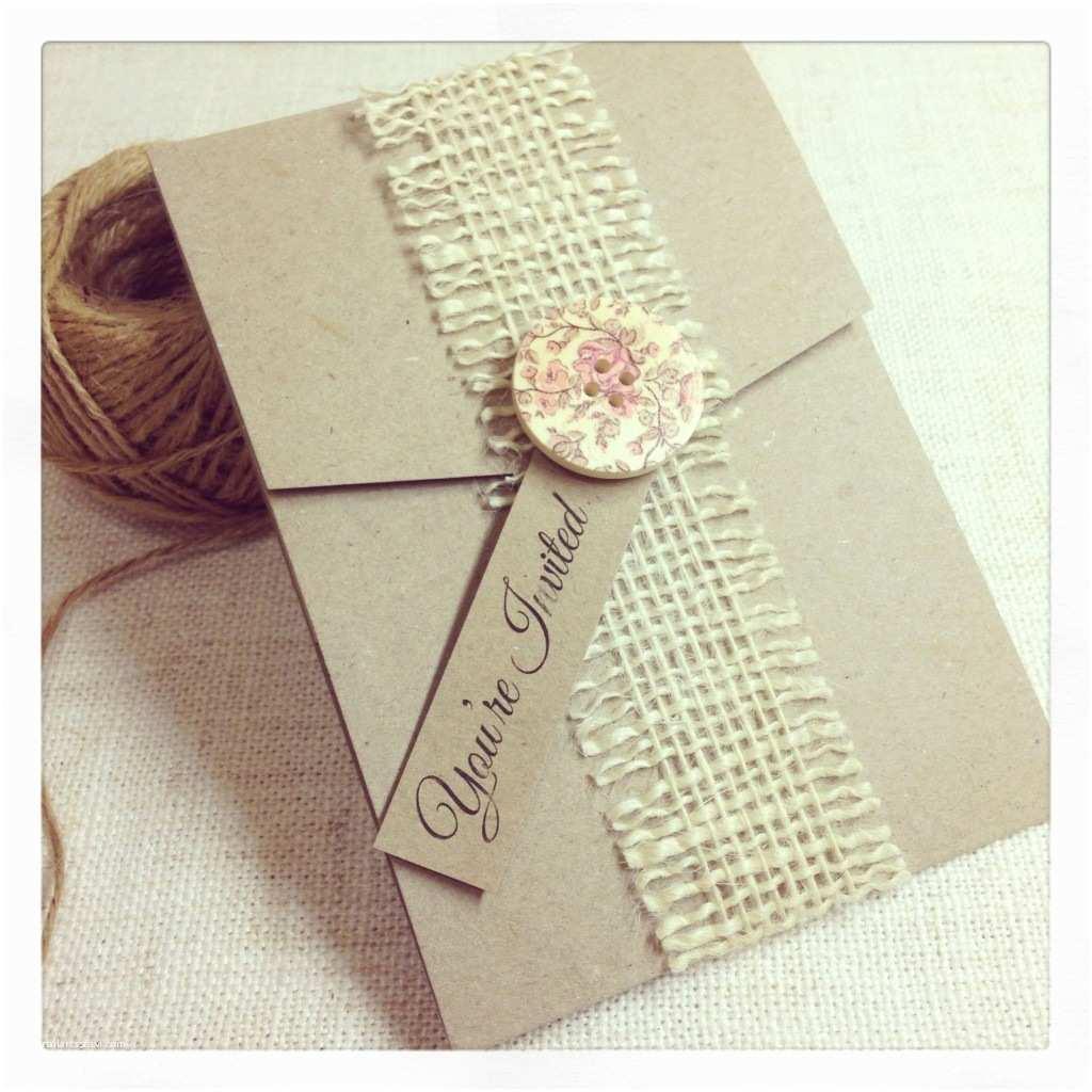 Burlap Wedding Invitations Blog