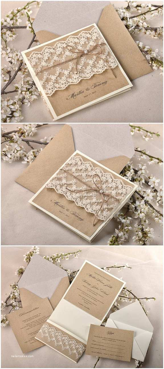 Burlap Wedding Invitations top 10 Rustic Wedding Invitations to Wow Your Guests