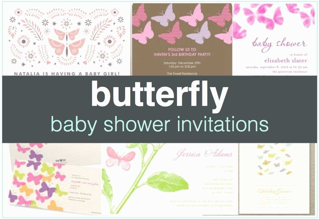Butterfly Baby Shower Invitations butterfly Baby Shower Invitations