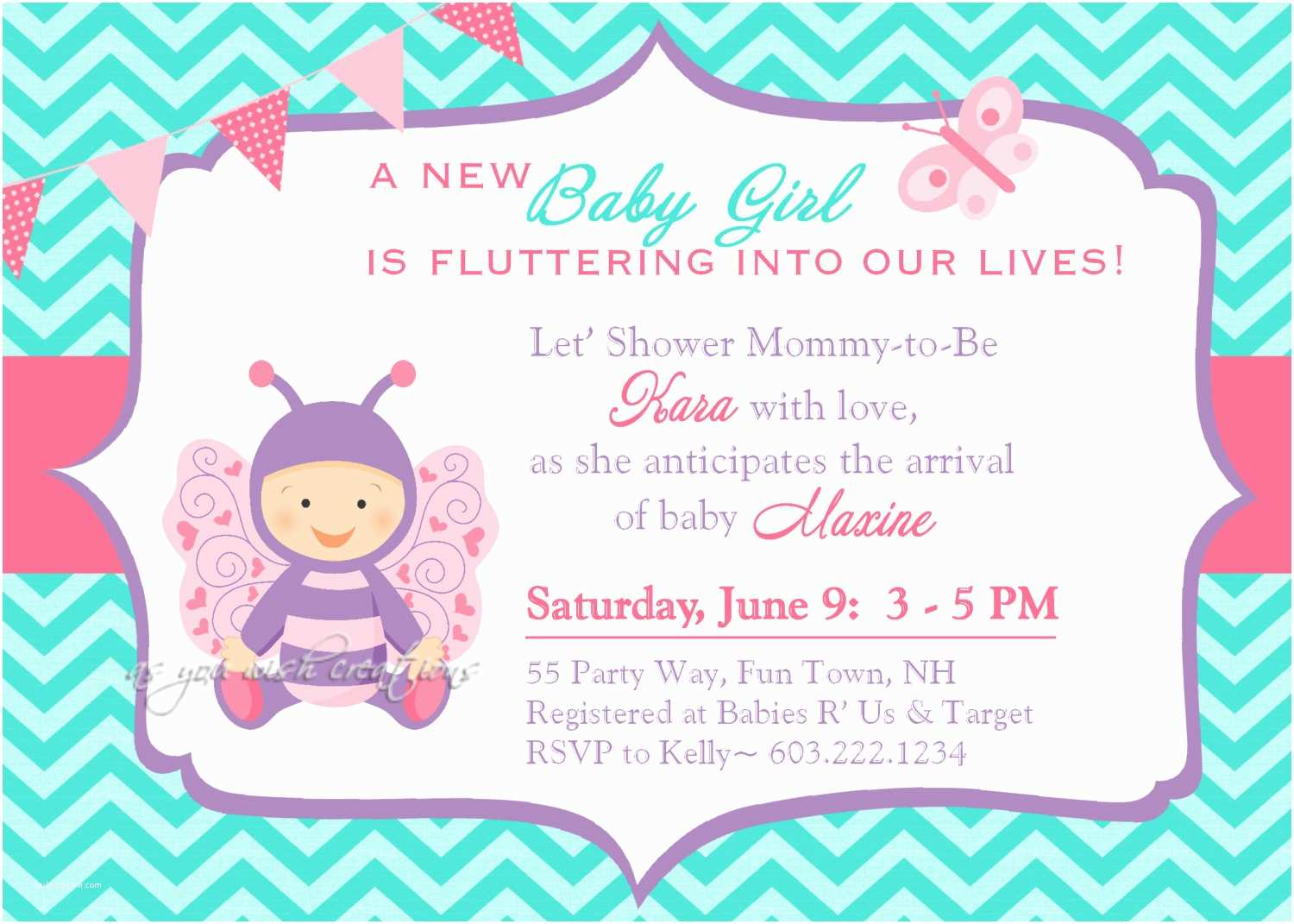 Butterfly Baby Shower Invitations butterfly Baby Shower Invitations Templates