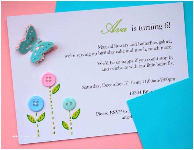 Butterfly Birthday Invitations Angenuity Ava S butterfly Birthday Party