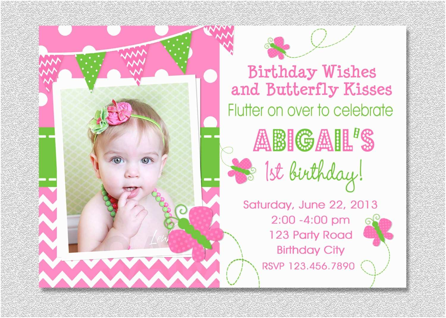 Butterfly Birthday Invitations butterfly Birthday Invitation butterfly Invitation Girl