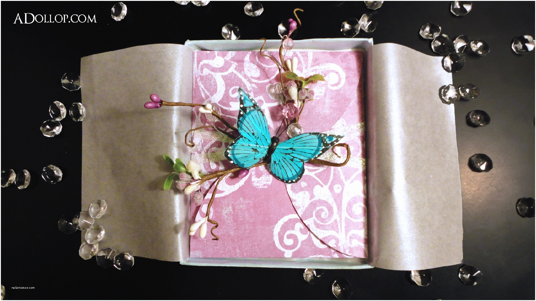 Butterfly Wedding Invitations A Dollop Of Inspiration
