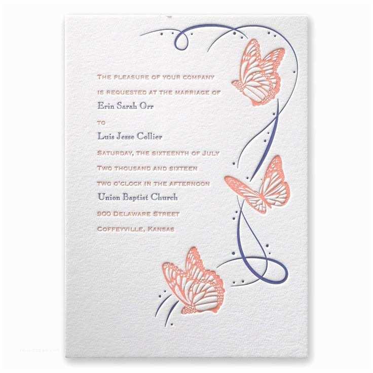 Butterfly Wedding Invitations Templates 1000 Ideas About butterfly Wedding Invitations On