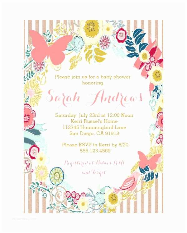 Butterfly Wedding Invitations Templates butterfly Invitation Templates 10 Free Psd Vector Ai