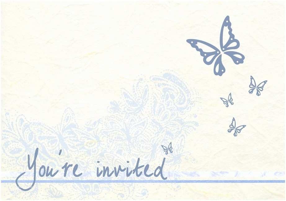 Butterfly Wedding Invitations Templates butterfly Invitations Template