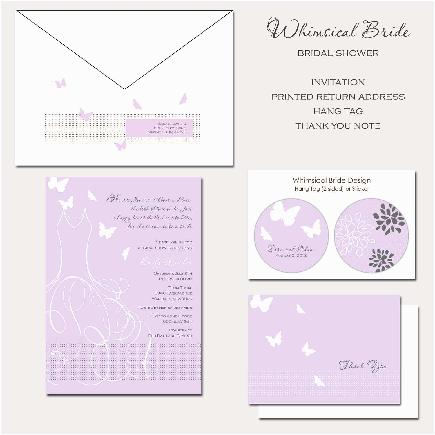Butterfly Wedding Invitations Templates butterfly Wedding Invitation Wording