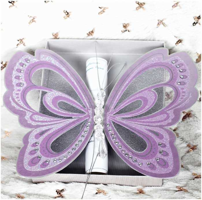 Butterfly Wedding Invitations Templates butterfly Wedding Invitations Yaseen for