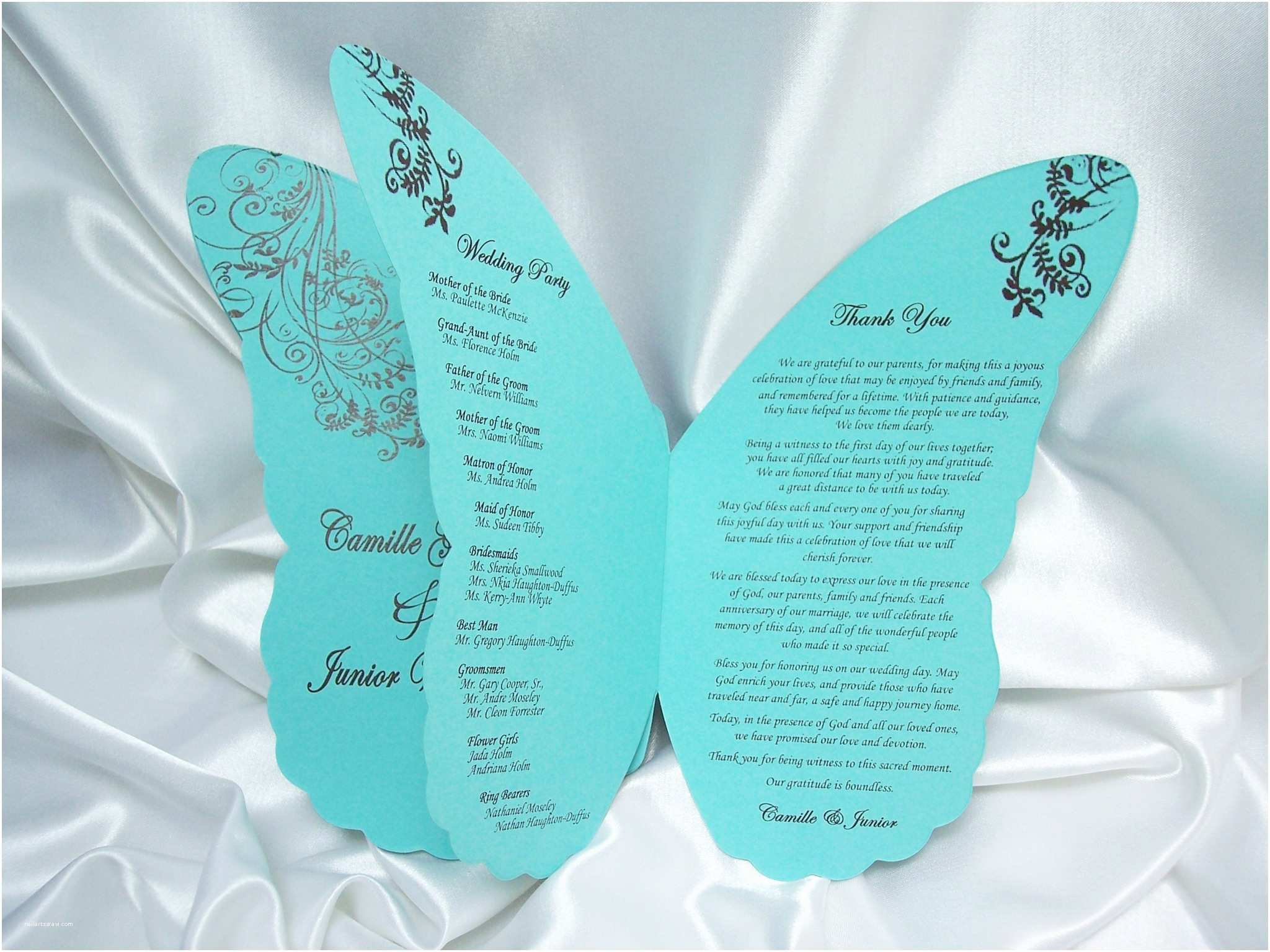 Butterfly Wedding Invitations Templates Wedding Invitation Wording Printable butterfly Wedding