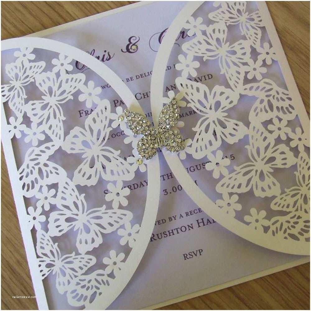 Butterfly Wedding Invitations Templates Wedding Invitations