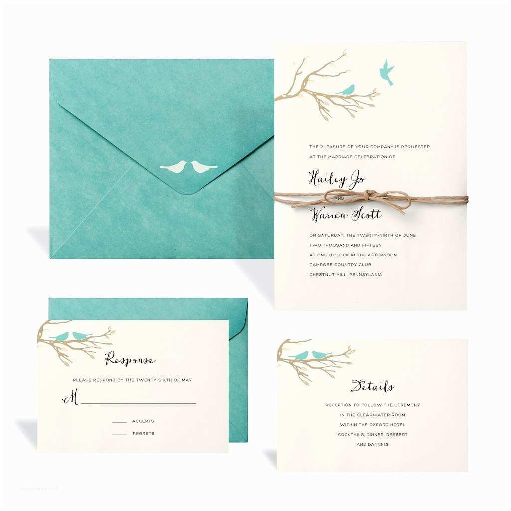 Buy Wedding Invitation Kits Buy the Love Birds Wedding Invitation Kit by Celebrate It™ at Michaels