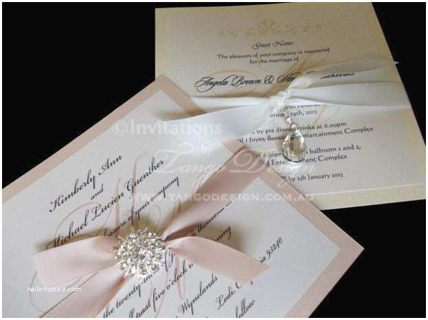 Buy Wedding Invitation Kits Diy Wedding Invitation Kit for 10 Invitations Do It Yourself Invites W Brooch
