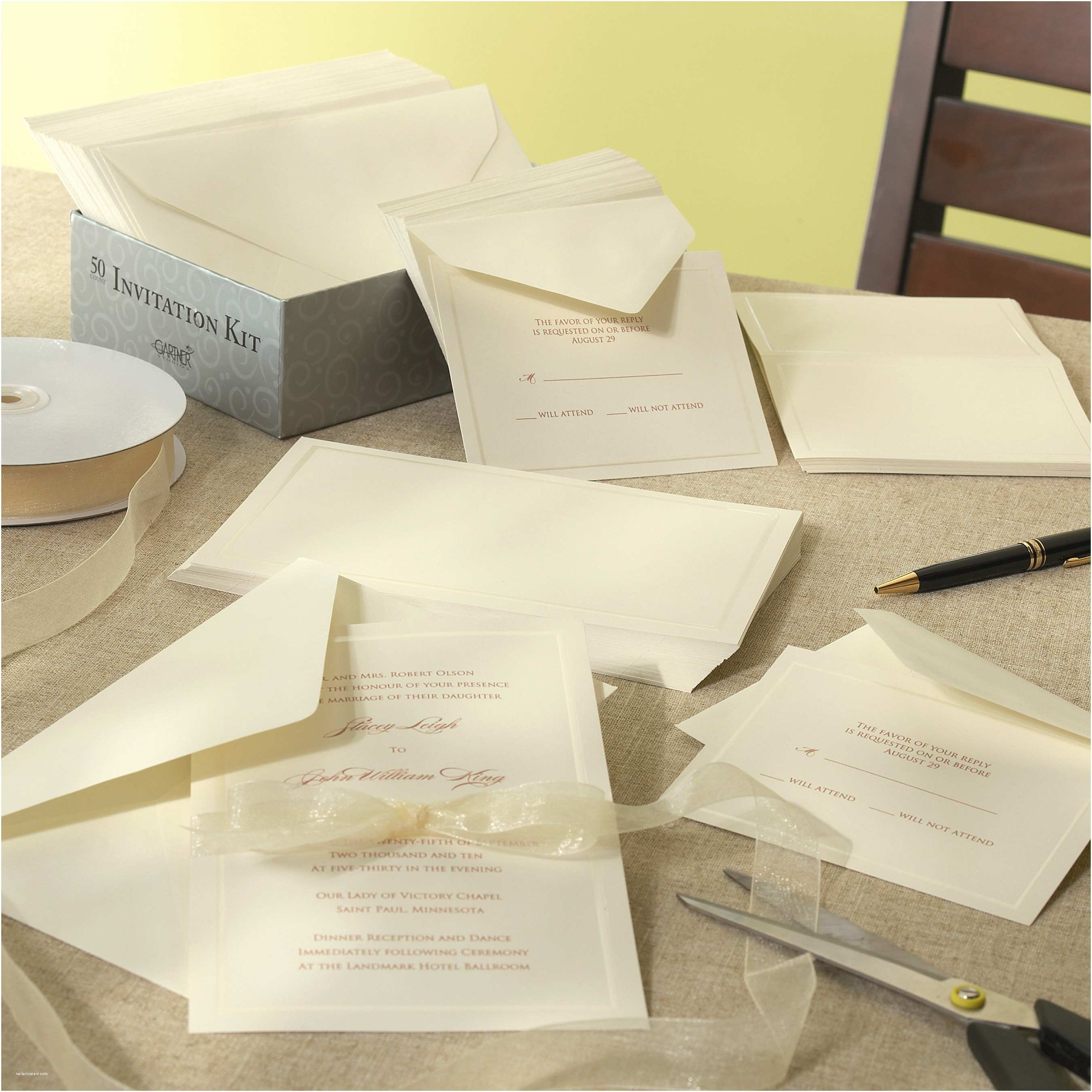 Buy Wedding Invitation Kits Diy Wedding Invitations Kits Do It Yourself Wedding Invitation Kits Various Invitation Card Design
