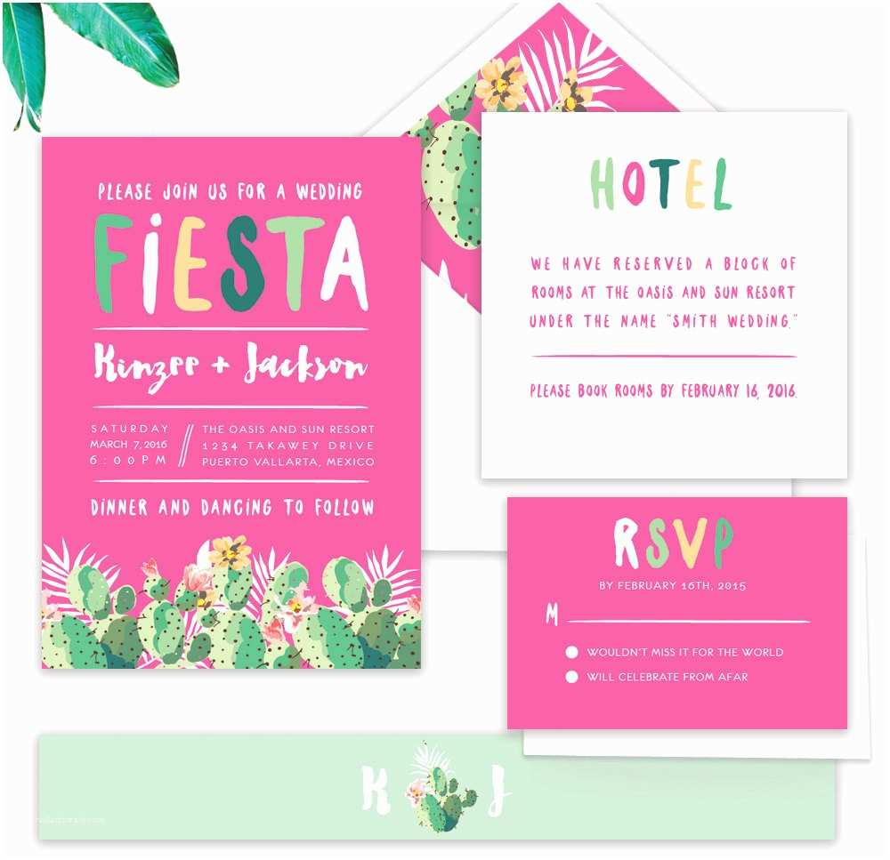 Cactus Wedding Invitations 15 Fun Ideas for A Cactus Filled Wedding